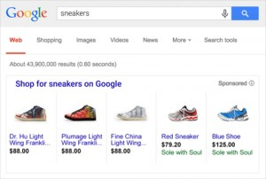 Google Shopping Search Example