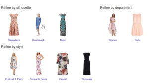 Google Shopping Refined Categories