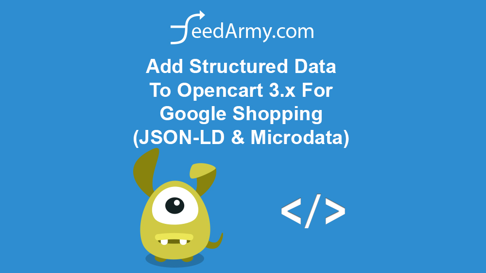 Add Structured Data To Opencart 3.x For Google Shopping (JSON-LD & Microdata)