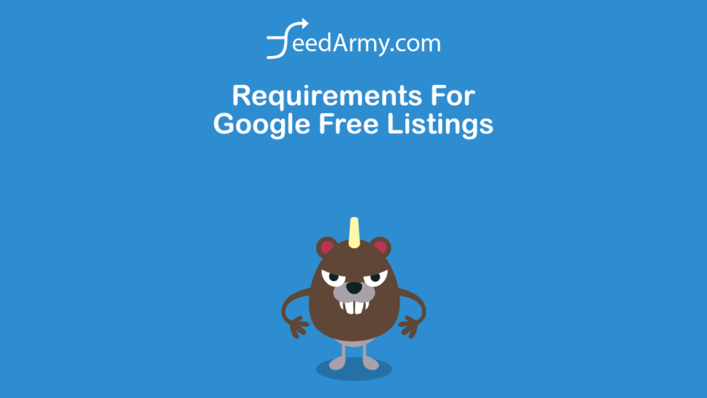 Requirements For Google Free Listings